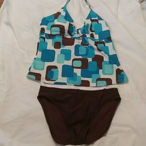 Two Piece Bathing Suit by Ocean Dream Size 12